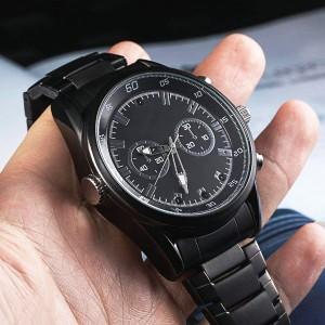 Reloj elegante con cámara
